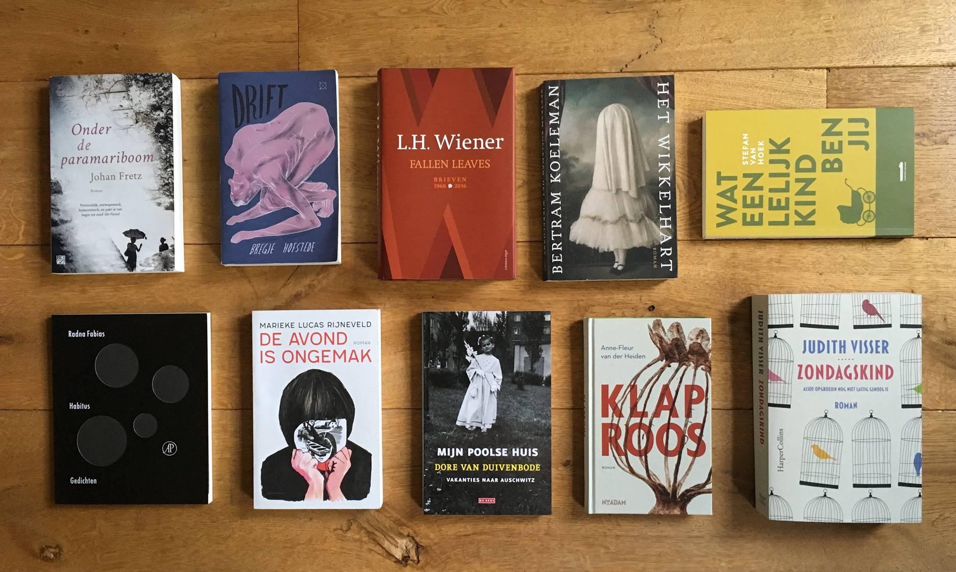 Donderdag 7 februari: Literaire Maaltijd SPECIAL: Het Boekenjaar 2018