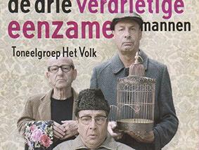 Literaire Maaltijd: 'De drie verdrietige eenzame mannen'