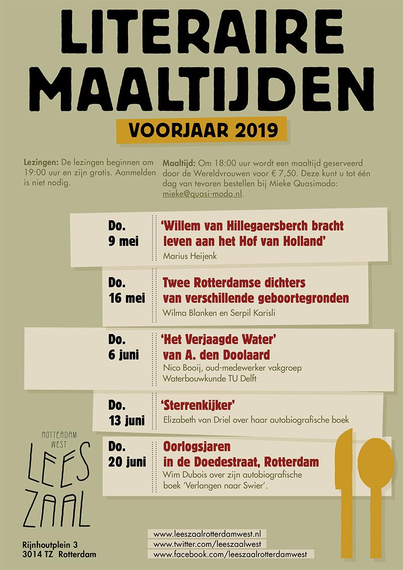 Literaire Maaltijd – 2 Rotterdamse dichters