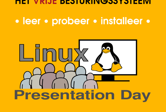 16 november: Linux Presentation Day