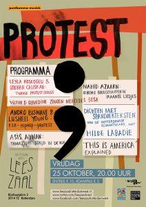 PuntKomma Muziek: PROTEST