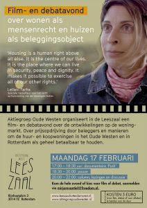 Film- en debatavond over wonen