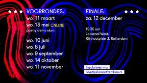 Poetry Slam Rotterdam - voorronde 3