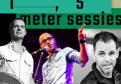 3 juni, 19:30 – 1,5m sessie: Friso van Wijck, Philipp Ernsting & Omar El Allali