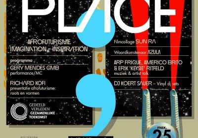 10 juli, 20:00 – puntkomma muziek: Afrofuturisme