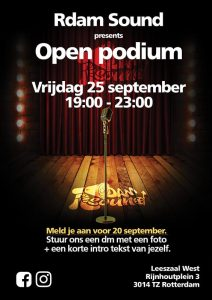 Open podium: RDAM SOUND