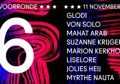 11 november – Poetry Slam Rotterdam – voorronde no. 6