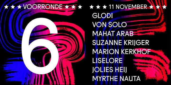 11 november – Poetry Slam Rotterdam – voorronde no. 6
