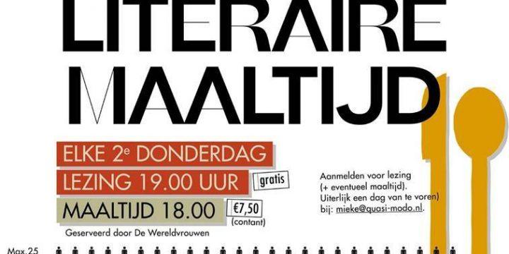 UITGESTELD – Literaire Maaltijd – Gevangen verlangen