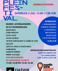 3 juli – Rijnhoutpleinfestival